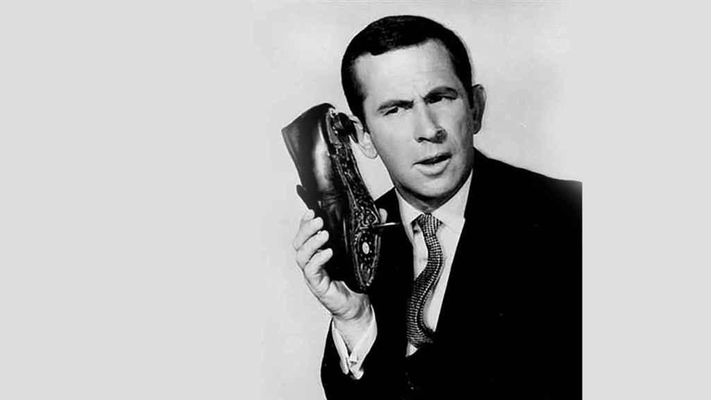 Superagente 86 y su especial teléfono