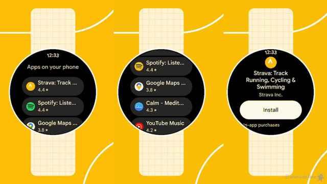 Instalando apps en Wear OS desde el móvil