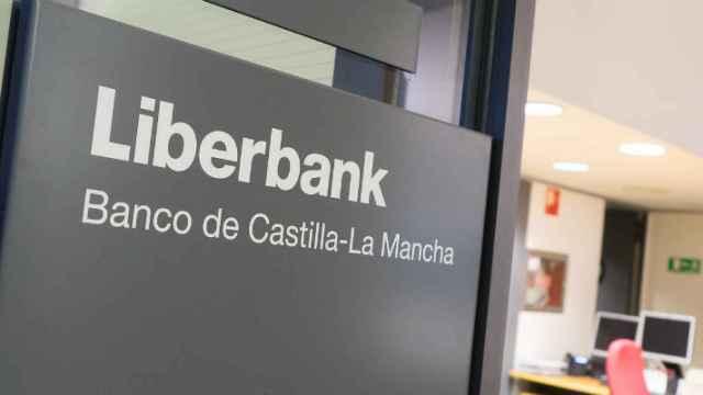 Una de las sucursales de Liberbank.