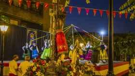 Santa Olalla vuelve a celebrar sus tradicionales fiestas en honor al Cristo de la Caridad
