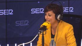 Isabel Rodríguez,ministra de Política Territorial y portavoz del Gobierno, en la Cadena SER.