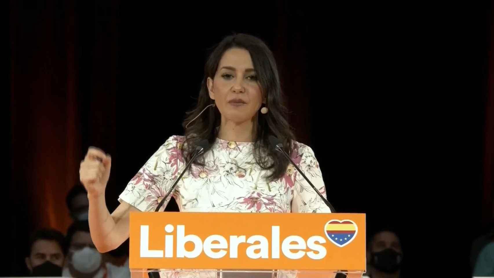 Inés Arrimadas: No nos rendiremos nunca