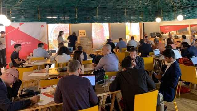 Participantes en la edición del año pasado del Starter Business Acceleration de EDP.