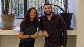 María González y Marcos Rubio son los fundadores de la startup Tucuvi.