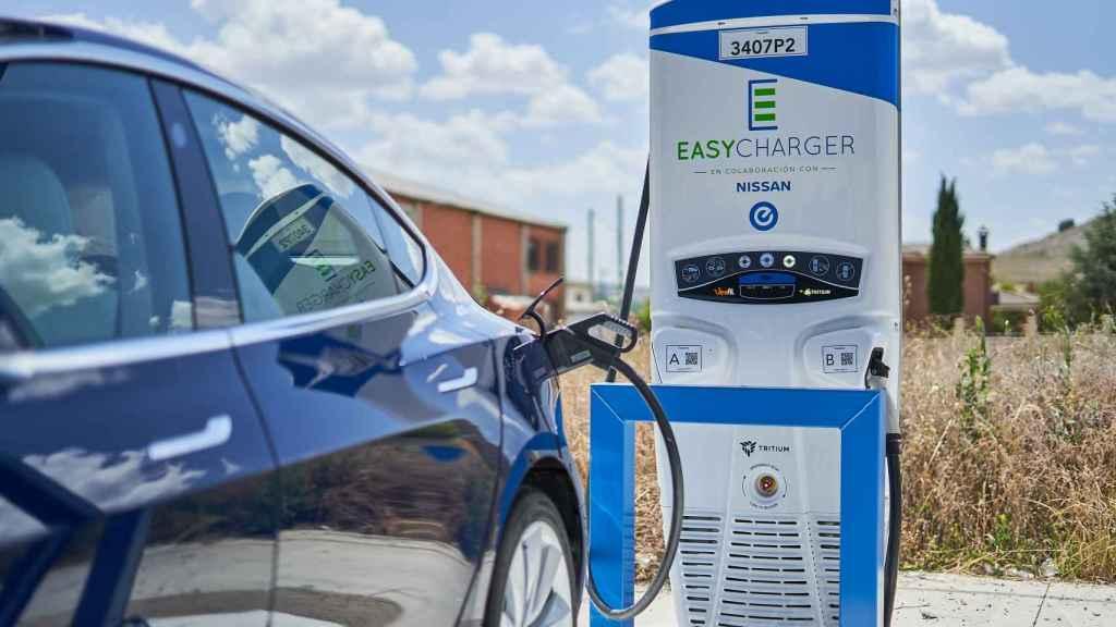 Easycharger cierra una ronda de 25 millones con la q instalará 1.000 cargadores para coches eléctricos