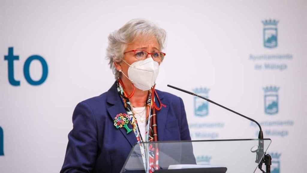 Teresa Porras, concejala de Limpieza de Málaga.