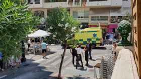 Una foto después del atropello en Marbella.