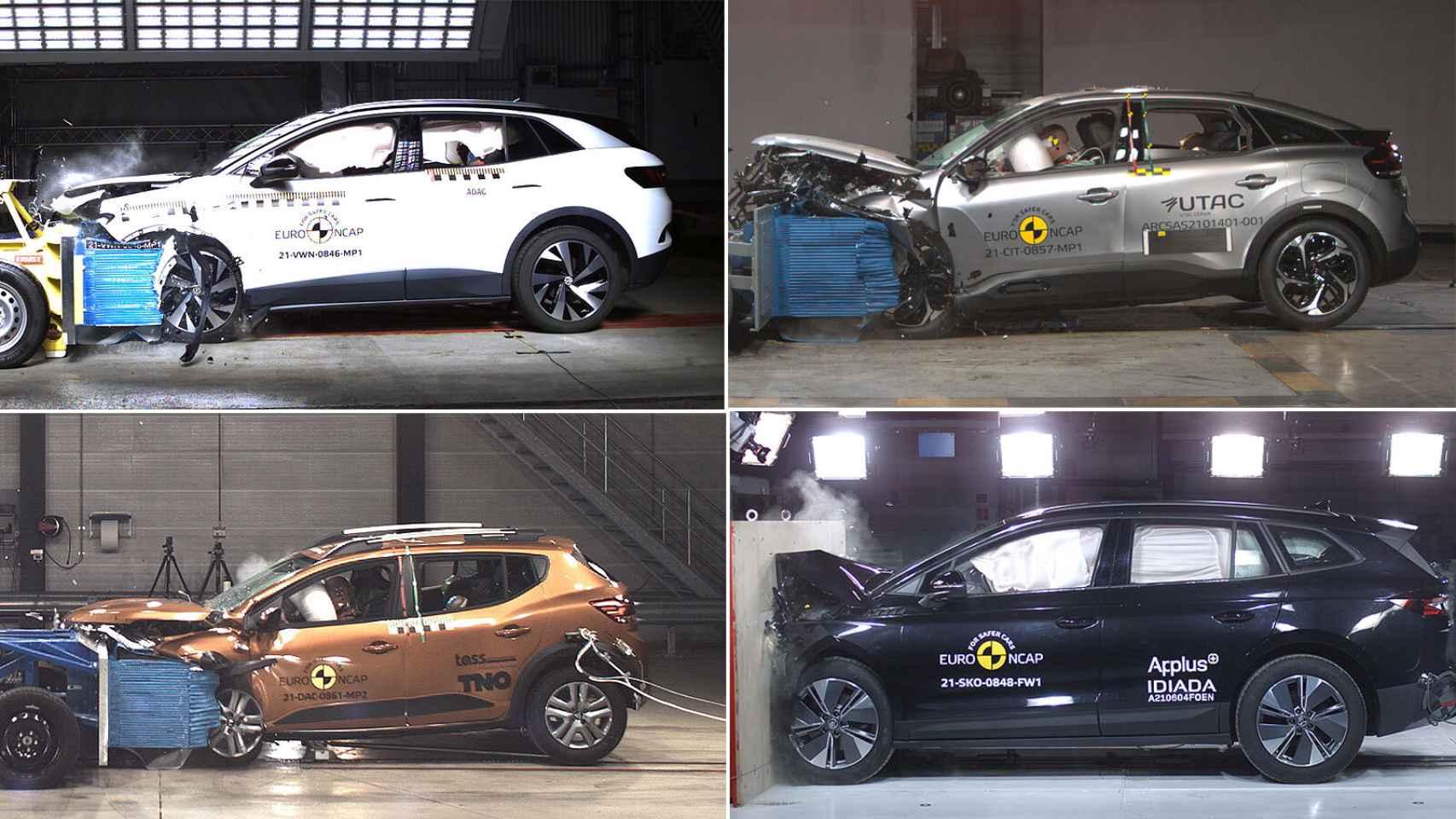 ¿Cuáles son los 10 coches más seguros de 2021? Este es el 'ranking' tras las pruebas de choque