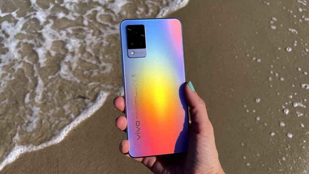 Un diseño que cambia de color dependiendo de la luz del sol.