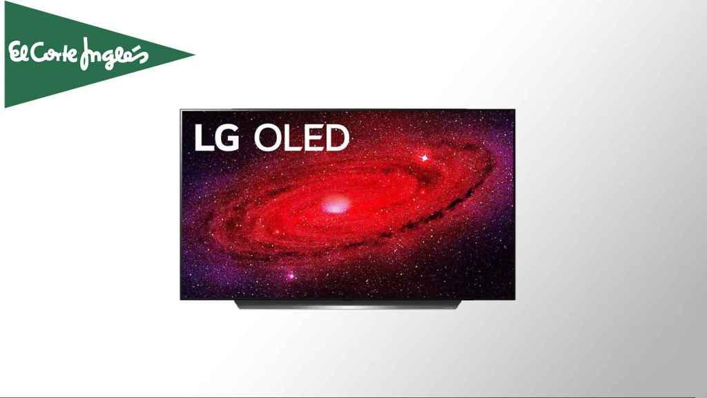 Televisor OLED rebajado.