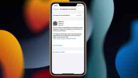 iOS 14.7 en un iPhone 11.