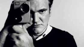 Quentin Tarantino, armado con una Leica.