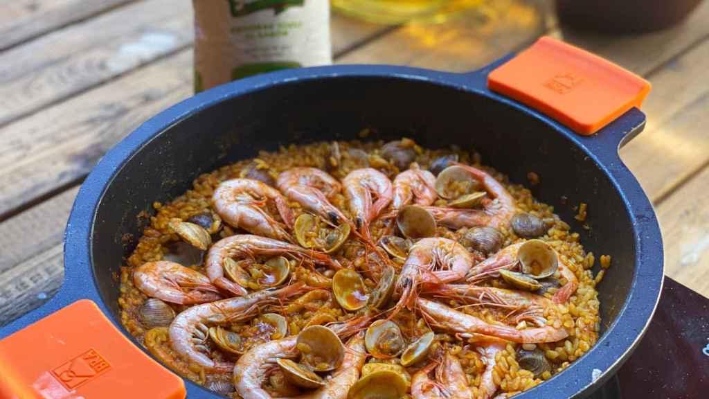 La paella de marisco entra en una nueva dimensión con esta variedad de arroz.