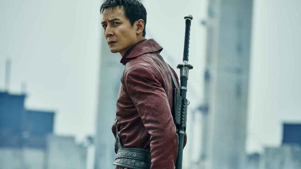 Daniel Wu en 'Into the Badlands'