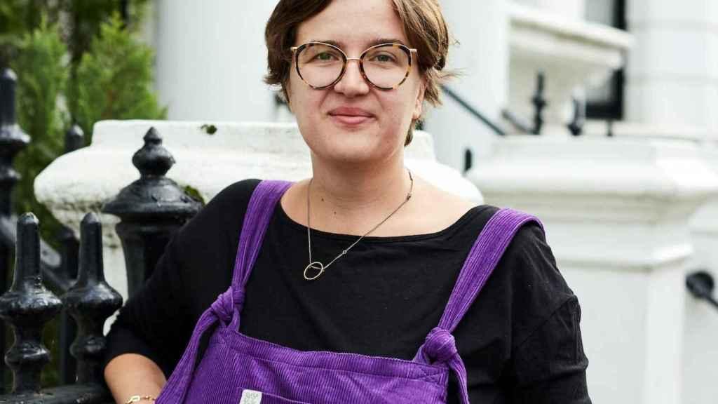 La escritora Katharina Volckmer.