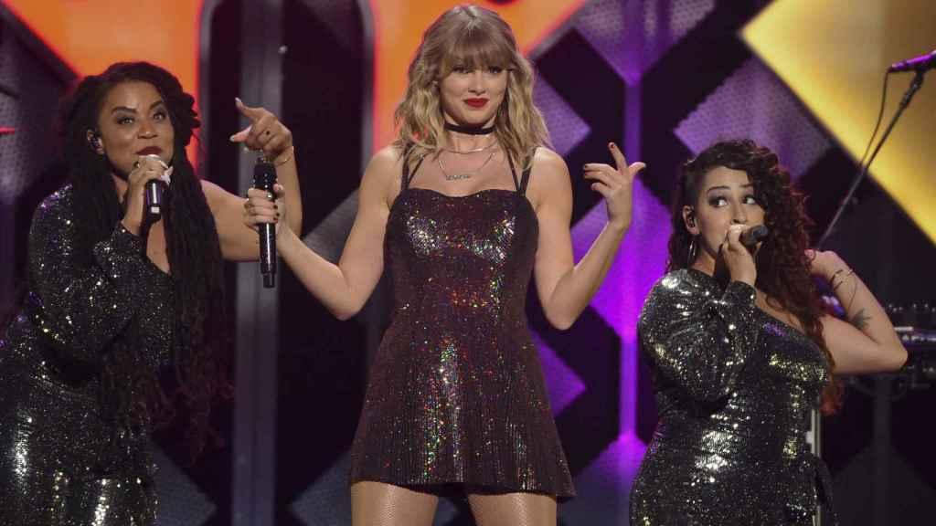 Taylor Swift, durante uno de sus conciertos en 2019.