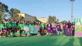 Puesta de largo del nuevo Club de Hockey Málaga Carranque.