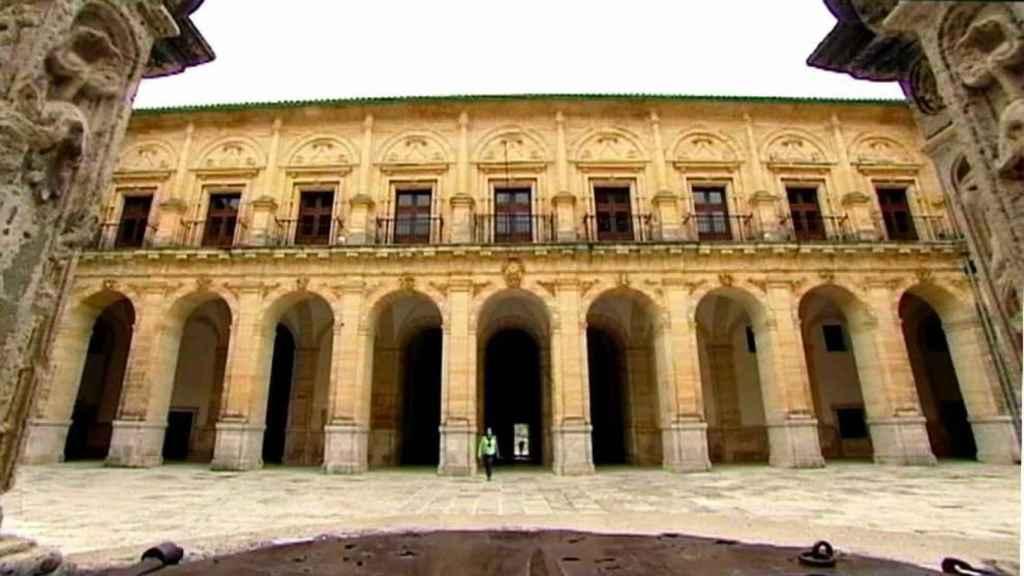 Impresionante imagen del Monasterio de Uclés (Foto: CMMediaPlay)