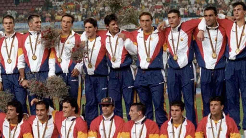 La selección española de fútbol en los Juegos Olímpicos de Barcelona '92