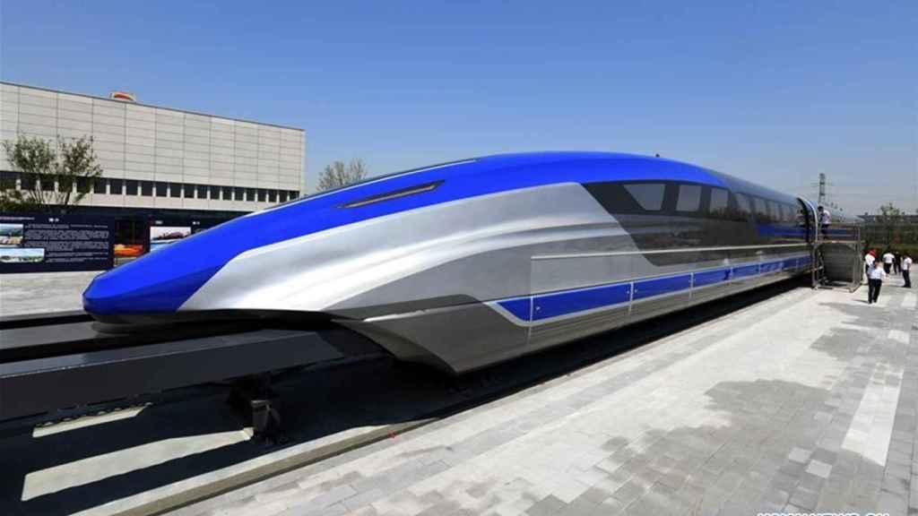 Tren maglev chino