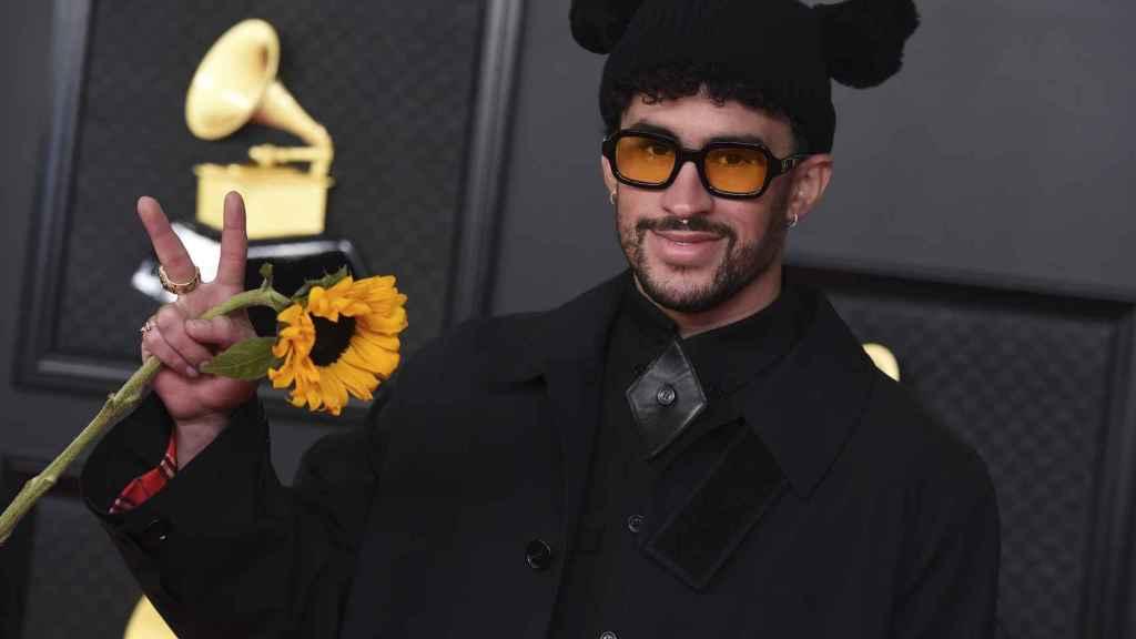 Bad Buny en la última edición de los Grammy.