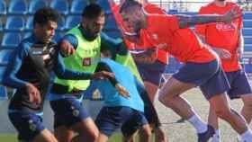 Los entrenamientos de pretemporada de los dos equipos alicantinos.