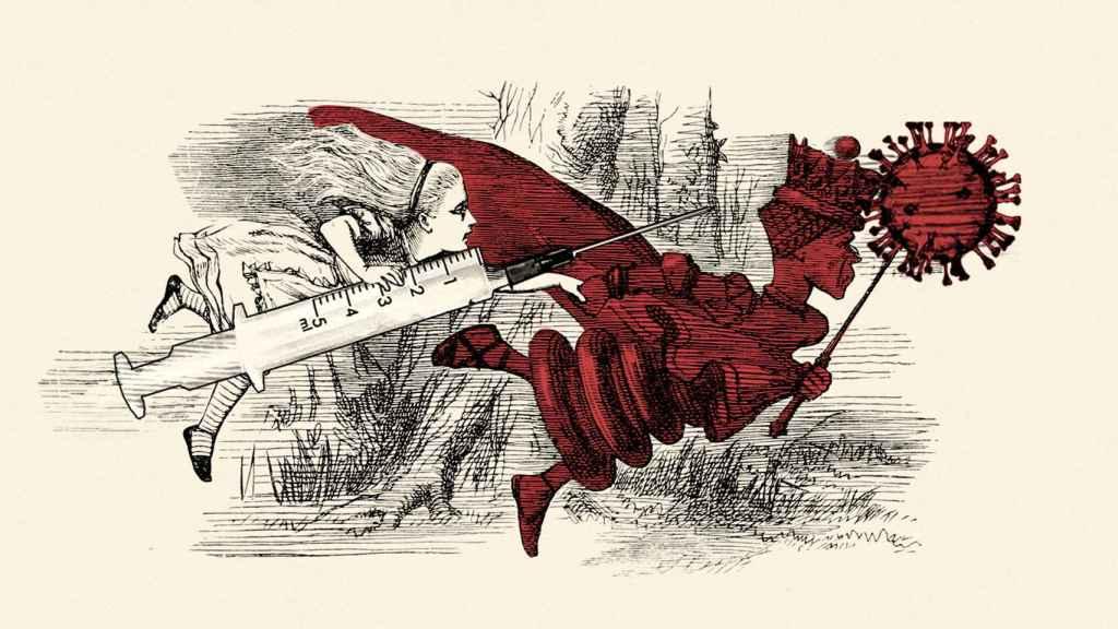 El efecto 'Reina Roja' se inspira en el personaje de Lewis Carroll: correr para quedarse en el sitio.