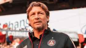 Gabriel Heinze, en el banquillo del Atlanta United
