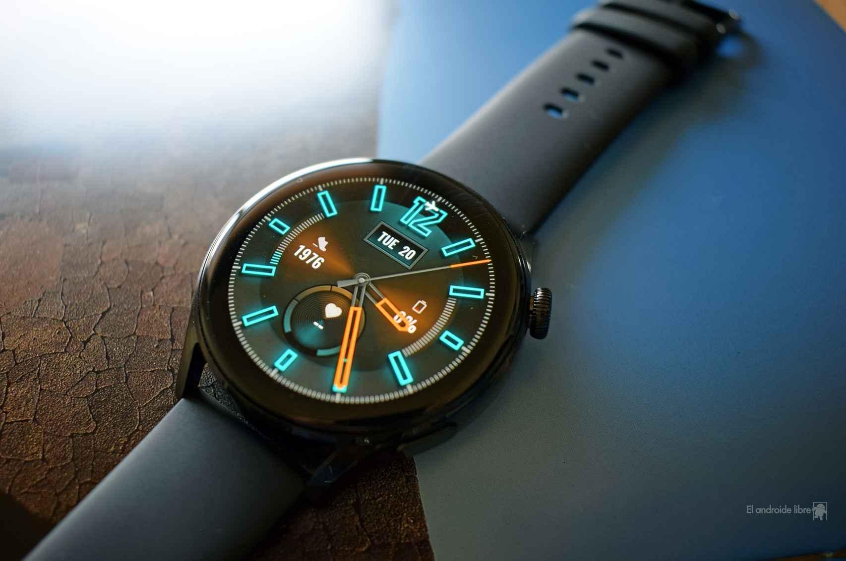 Diseño 'sport' para el Huawei Watch 3