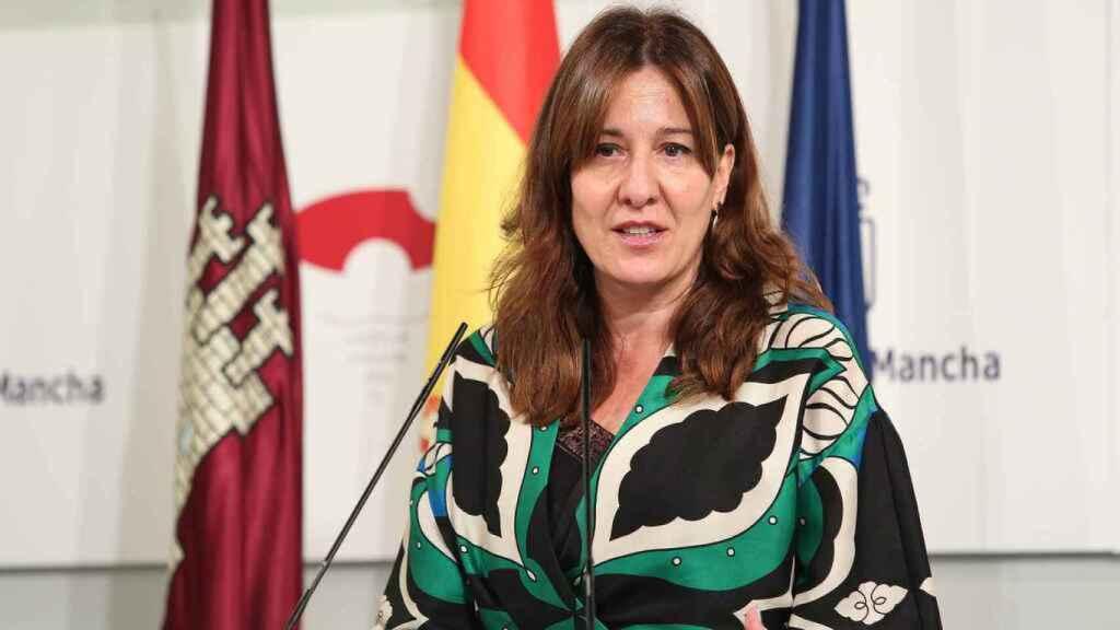 Blanca Fernández, portavoz del Ejecutivo regional