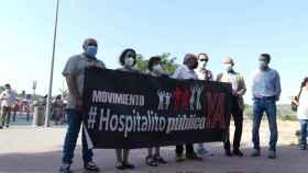 El Movimiento 'Hospitalito Ya' recoge firmas en el mercadillo del martes de Toledo