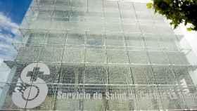 Edificio central del Sescam. Imagen de archivo