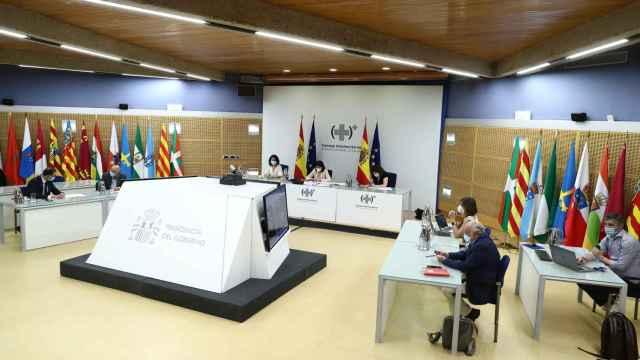 Imagen del último Consejo Interterritorial del Sistema Nacional de Salud celebrado el pasado martes.
