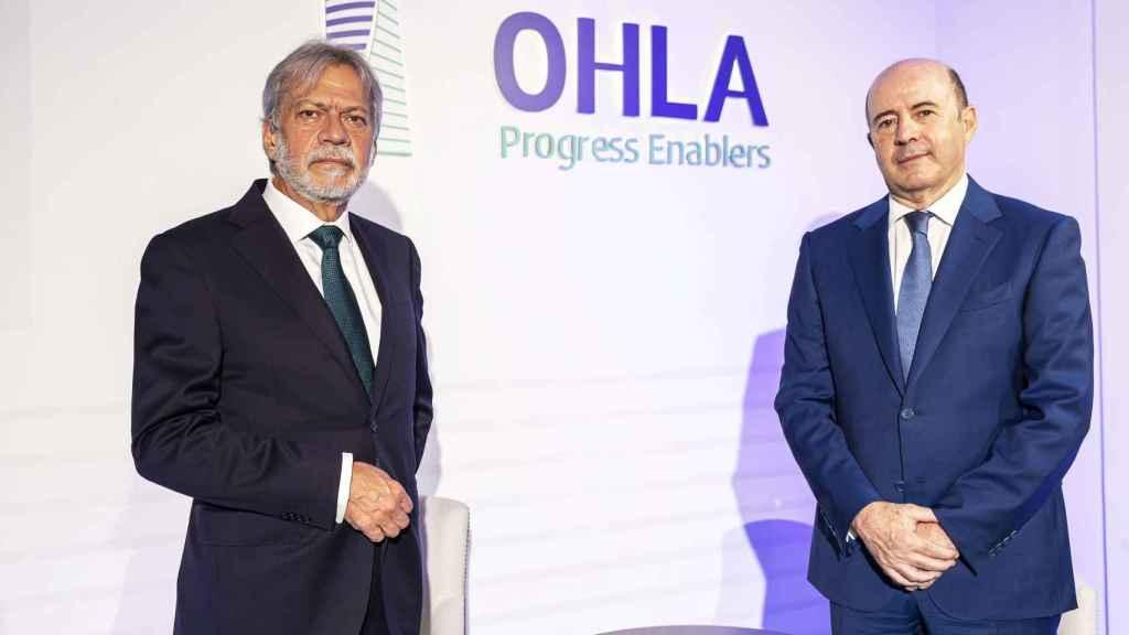 Luis Amodio, presidente de OHLA, y José Antonio Fernández Gallar, CEO.