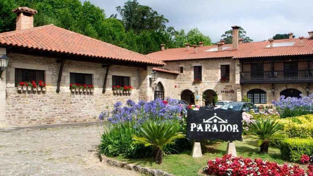 Uno de los establecimientos de Paradores en España.