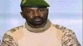 Assimi Goita,, el presidente interino de Mali.
