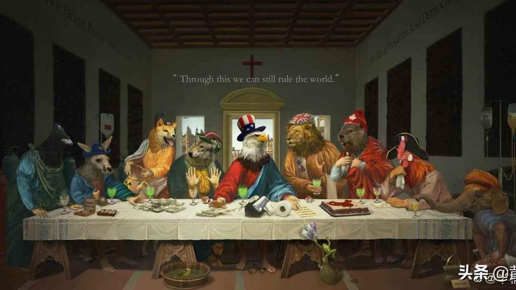 La última cena del G7 (Bantong Lao Atang).