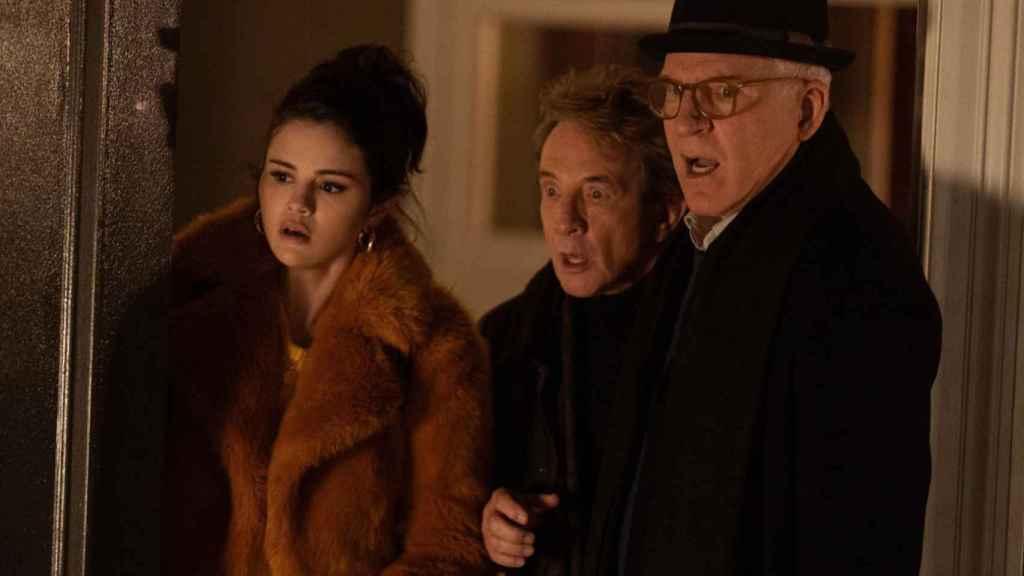 Los tres protagonistas de 'Solo asesinatos en el edificio'.