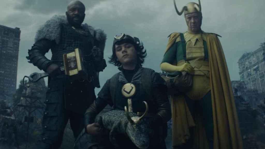 Cuatro variantes de 'Loki'.