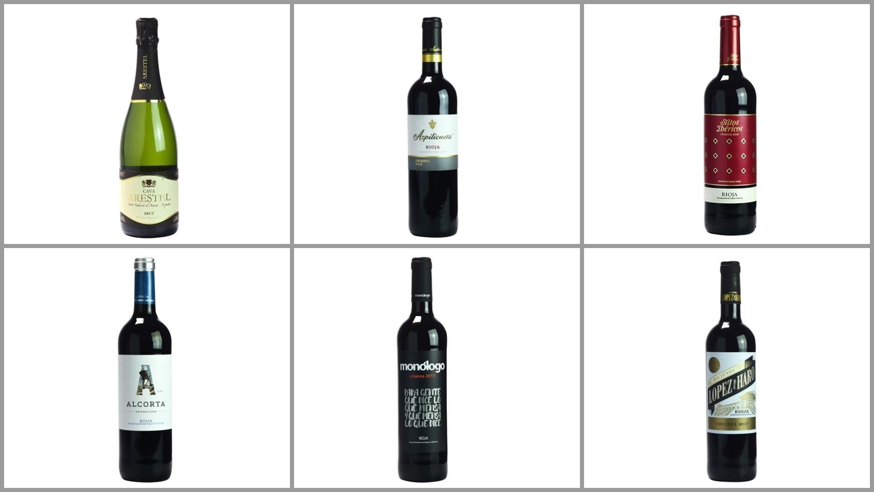 Los peores vinos según la OCU