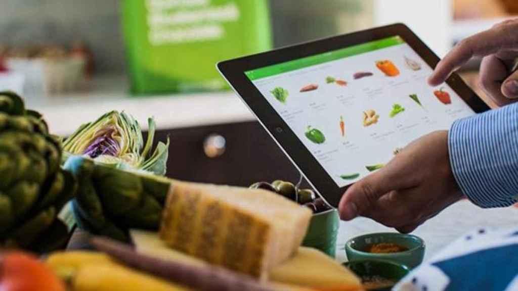 Compra online de alimentación