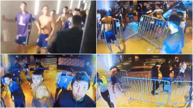 La batalla campal de Boca Juniors contra la seguridad