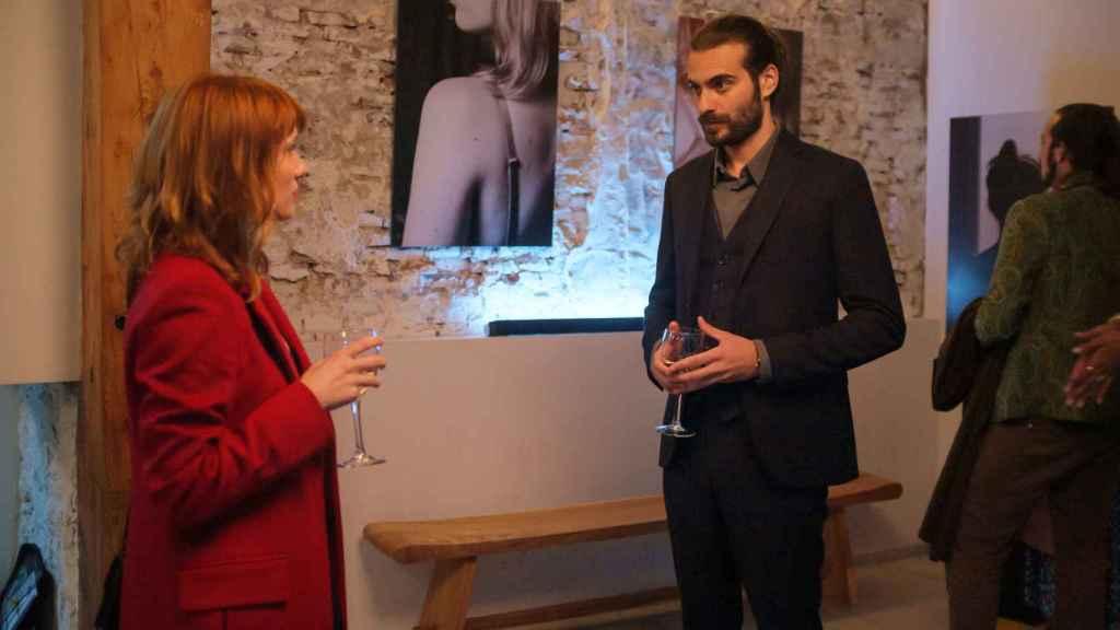 Diana Gómez e Ibrahim Al Shami en 'Valeria'