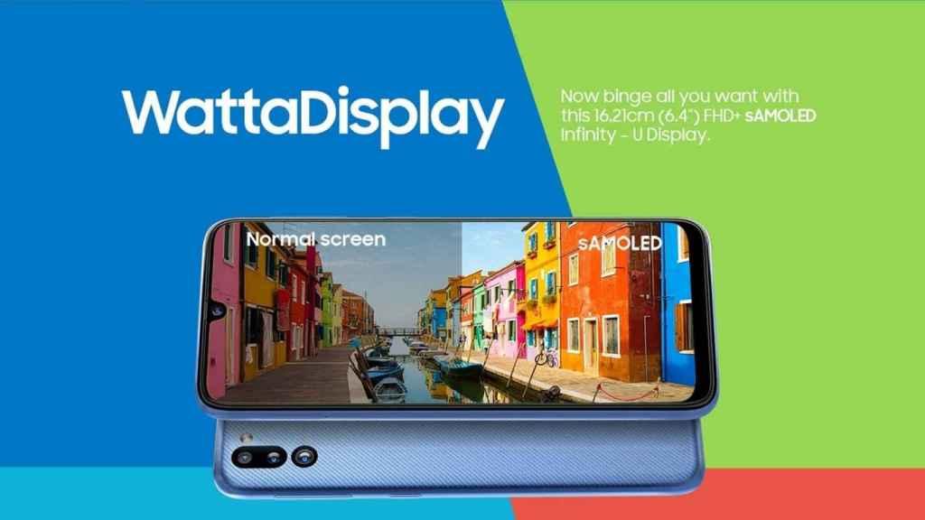 Galaxy M21 2021 Edition pantalla