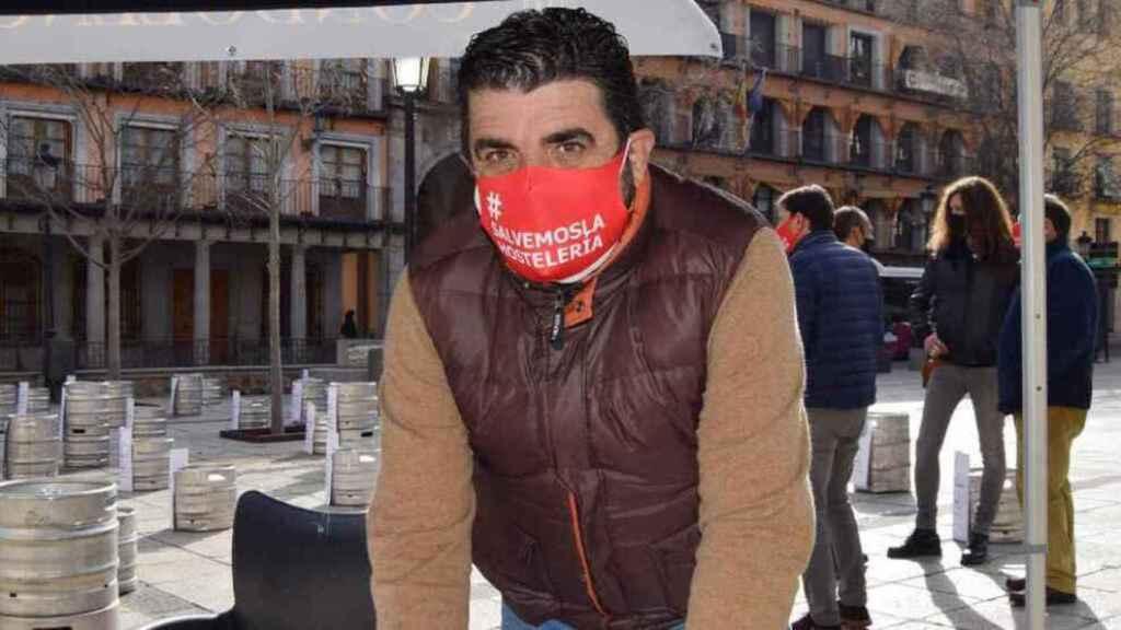 Tomás Palencia, presidente de la Asociación de Hostelería de Toledo