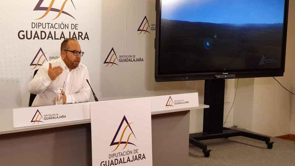 Rubén García en la presentación del documental