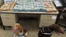 La Policía encuentra un millón de euros en un control rutinario a un coche en Málaga