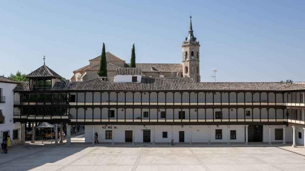 Nueva Plaza Mayor de Tembleque (Toledo)