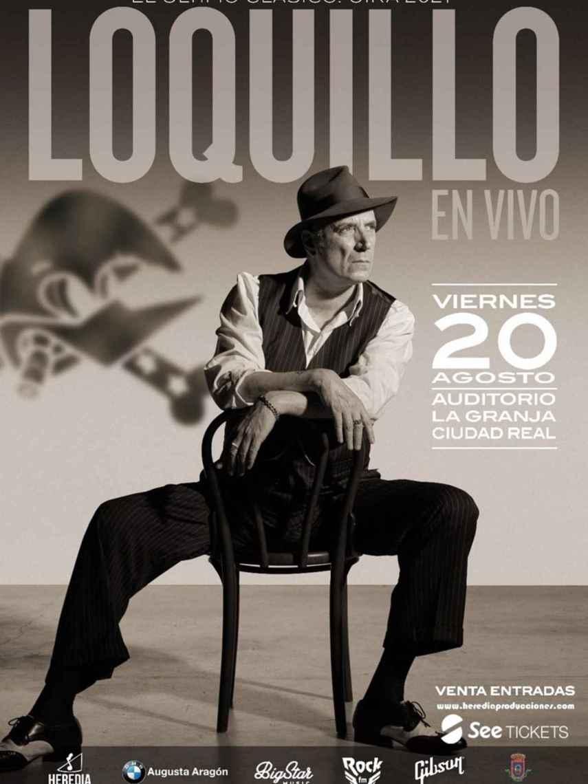 Loquillo, uno de los conciertos previstos en Ciudad Real