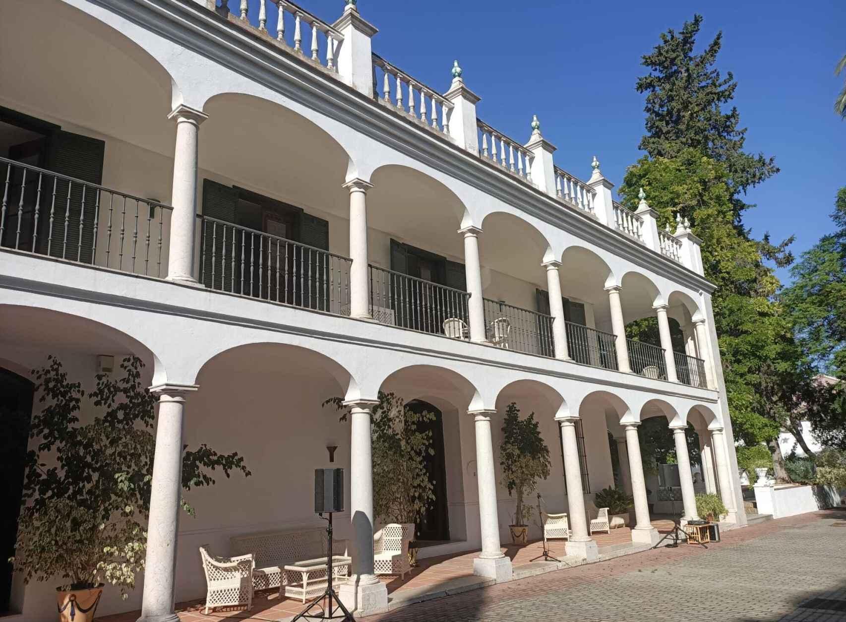 La finca de Churriana donde estuvo Hemingway.
